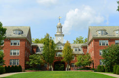 Wayland Hall, Brown University, Voorzienigheid, de V.S. Stock Afbeeldingen