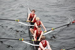 Wayland-Weston Rowing Association Men 18 and Under Royalty Free Stock Image