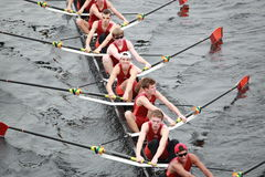 Wayland-Weston Rowing Association Men 18 and Under Stock Photo