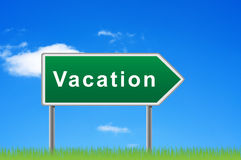 Waymark vacation. Stock Images