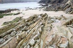 Waymont strand, Ballyferriter, Slea huvud, Dingle Fotografering för Bildbyråer