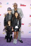 Wayne Brady. At the Los Angeles premiere of `Sofia the First: Once Upon a Princess` held at the Disney Studios in Los Angeles, United States on November 10 Royalty Free Stock Photo