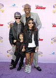 Wayne Brady. At the Los Angeles premiere of `Sofia the First: Once Upon a Princess` held at the Disney Studios in Los Angeles, United States on November 10 Stock Photography