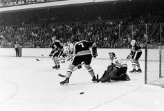 Wayne Cashman & Phil Esposito Boston Bruins Stock Image