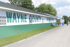 Wayne County Fairgrounds imagens de stock