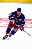 Wayne Gretzky, New York Rangers Royalty-vrije Stock Fotografie