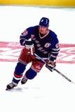 Wayne Gretzky New York Rangers royaltyfri fotografi