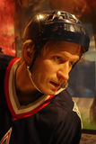 Wayne Gretzky Wax Figure Royalty Free Stock Photography