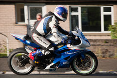 Wayne Kirwin at TT Isle of Man Stock Photography
