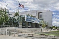 Wayne Lyman Morse USA domstolsbyggnad från sida Arkivbilder