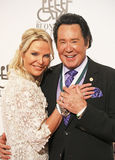 Wayne Newton with Wife, Kathleen McCrone Stock Images