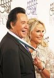 Wayne Newton with Wife, Kathleen McCrone Royalty Free Stock Photos