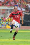 Wayne Rooney Fotografia de Stock Royalty Free