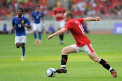 Wayne Rooney Royalty Free Stock Image