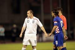 Wayne Rooney stock foto's