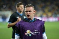 Wayne Rooney royalty-vrije stock afbeeldingen