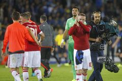 Wayne Rooney Champion League FC Brügge - Manchester United Stockfoto