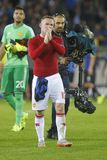 Wayne Rooney Champion League FC Bruges - Manchester United Fotografia Stock