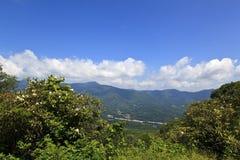 Waynesville, Carolina del Norte, visión desde las montañas imágenes de archivo libres de regalías