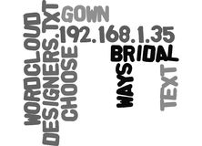 Ways To Choose Between Bridal Gown Designers Word Cloud Stock Images