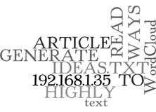 Ways To Generate Highly Read Article Ideasword Cloud Stock Photo
