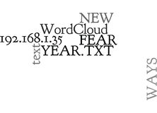 Ways To Say No To Fear This New Yearword Cloud. WAYS TO SAY NO TO FEAR THIS NEW YEAR TEXT WORD CLOUD CONCEPT Royalty Free Stock Images