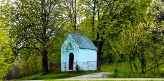 Wayside chapel Stock Photos