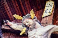 Wayside cross Stock Photography