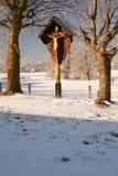 wayside för bavariarelikskrinupper Arkivbild