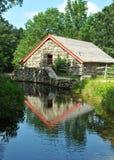 Wayside Inn Grist Mill. Historic Wayside Inn Grist Mill in Sudbury, Massachusetts royalty free stock image