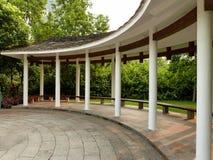 Wayside pavilion. In zhujiang park guangzhou china Royalty Free Stock Image