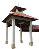 A wayside shelter. For footpath is public building in university at Thailand Royalty Free Stock Photo