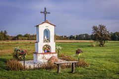 Free Wayside Shrine In Poland Stock Photo - 166379740