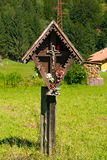 Wayside Shrine in Mountain - Trentino Italy Royalty Free Stock Photos