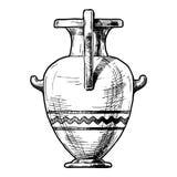 waza greckiej Hydria ilustracji
