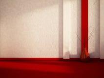 Waza na podłoga, 3d ilustracja wektor