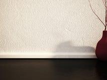 Waza z gałąź na podłoga, 3d ilustracja wektor