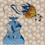 Waza z kwiatem ilustracja wektor