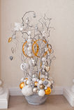 Waza z ornamentami Zdjęcia Stock
