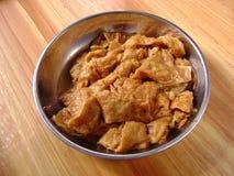 Wazeliniarski smażący gluten zdjęcie stock