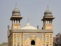 Wazir可汗清真寺,拉合尔,巴基斯坦 图库摄影
