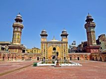 Wazir Khan Masjid, Lahore, Pakistan royalty free stock image