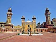 Wazir Khan Masjid, Lahore, Paquistán imagen de archivo libre de regalías