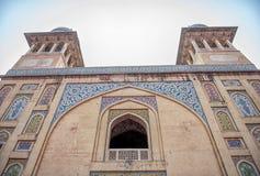 Wazir Khan Moschee Lizenzfreies Stockbild