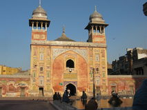 Wazir Khan Mosque. In Lahore Royalty Free Stock Photo
