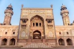 Wazir Khan Mosque, Pakistan photographie stock