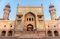 Wazir Khan Mosque, Pakistan stock photography