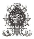 wazowy ozdobny wektora Zdjęcia Stock