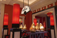 Wazuzu restaurant inside of the Encore hotel in Las Vegas. Stock Photography