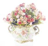 Wazy z kwiatami Obrazy Royalty Free